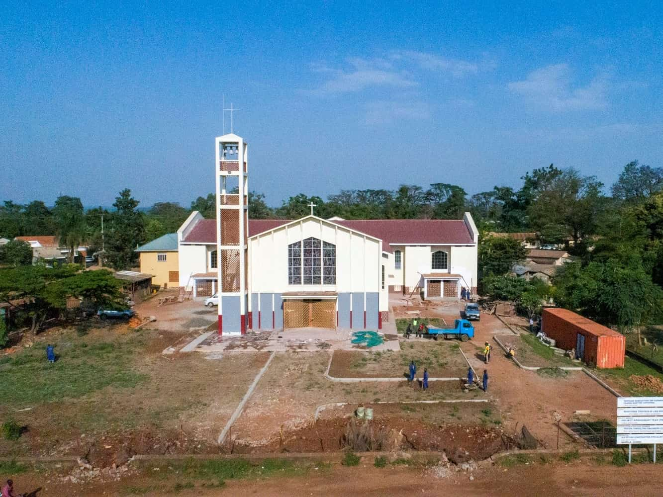 Expansion and renovation of Uganda Martyrs Cathedral 1