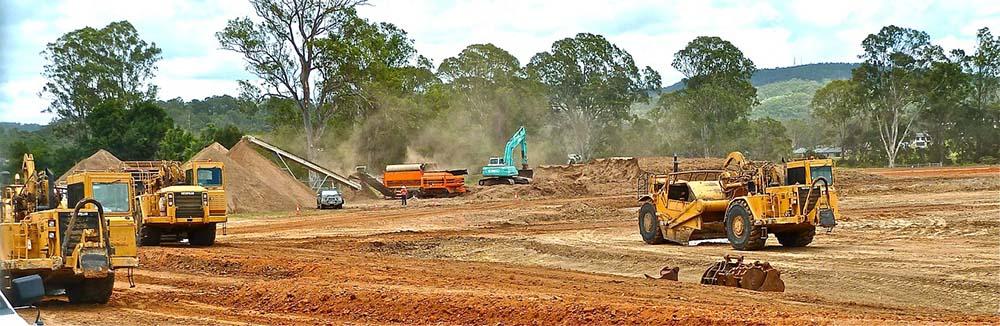Bulldozer at work 4